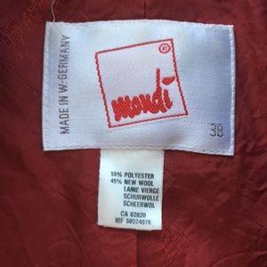 Mondi Jackets & Coats - Vintage Mondi Cropped Military Jacket